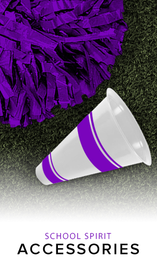 Picture of pom pom and megaphone. Click to shop.